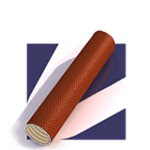 Tubing Materials with Red Background